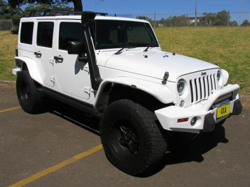 2013 Jeep WRANGLER UNLIMITED JK MY13 SPORT 4X4