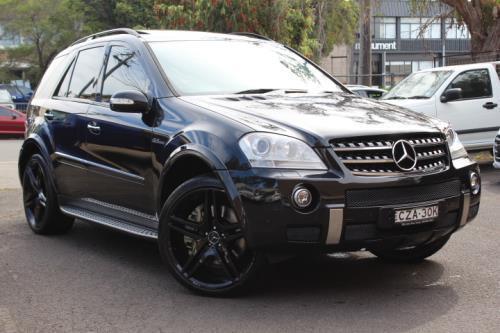 2008 Mercedes-Benz ML W164 08 UPGRADE 63 AMG 4X4