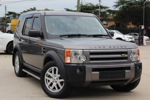 2007 land rover discovery 3 my06 upgrade se. Black Bedroom Furniture Sets. Home Design Ideas