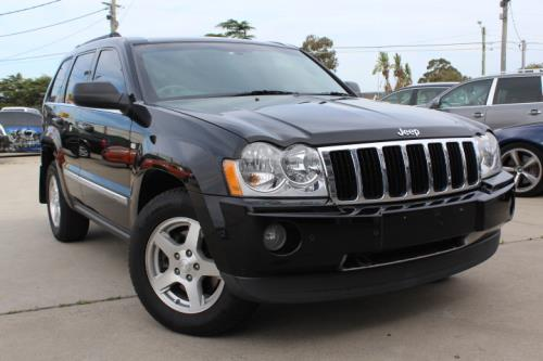 2008 Jeep GRAND CHEROKEE WH MY08 LIMITED 4X4